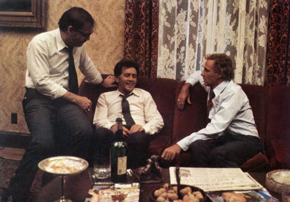 Martin Sheen, Bruce Dern, and Stacy Keach in That Championship Season (1982)