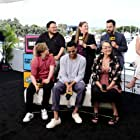 Tantoo Cardinal, Camryn Manheim, Adrian Martinez, Michael Ealy, Cobie Smulders, Jake Johnson, and Cole Sibus at an event for Stumptown (2019)