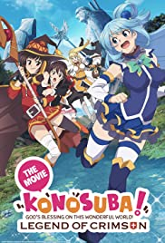 Konosuba!: God's Blessing on This Wonderful World! - Legend of Crimson Poster