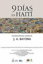 9 días en Haití Poster