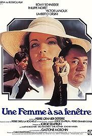 Une femme à sa fenêtre Poster