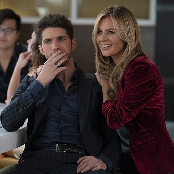 Jessalyn Gilsig and Bryan Craig in Grand Hotel (2019)