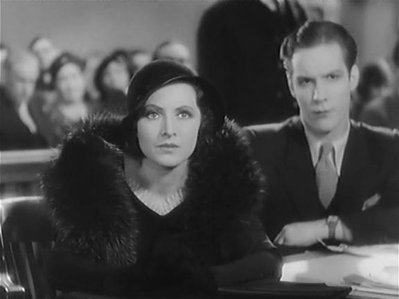 Jill Esmond and Morgan Galloway in Ladies of the Jury (1932)