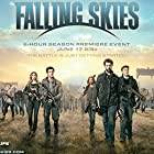 Will Patton, Noah Wyle, Sarah Carter, Colin Cunningham, Mpho Koaho, Moon Bloodgood, Drew Roy, Maxim Knight, and Connor Jessup in Falling Skies (2011)