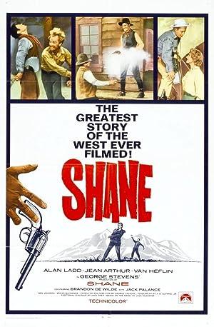 Shane poster