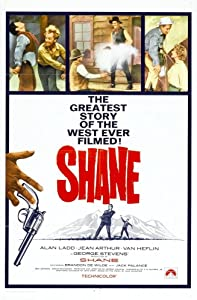 The watchers new movie Shane by Fred Zinnemann [Quad]