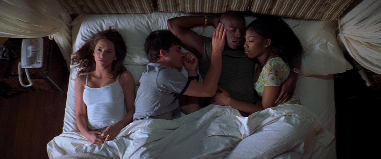 Jennifer Love Hewitt, Mekhi Phifer, Brandy Norwood, and Matthew Settle in I Still Know What You Did Last Summer (1998)