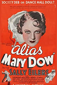 Primary photo for Alias Mary Dow