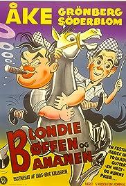 Blondie Biffen och Bananen Poster