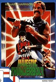 Majestic Thunderbolt Poster