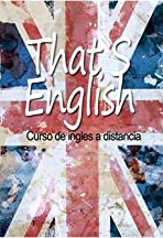 That's English