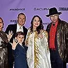 Jeff Plunkett, Mariana van Zeller, Darren Foster, and Cristina Costantini at an event for Mucho Mucho Amor: The Legend of Walter Mercado (2020)
