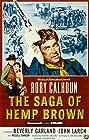 The Saga of Hemp Brown (1958) Poster