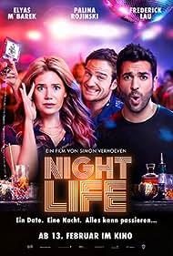 Frederick Lau, Elyas M'Barek, and Palina Rojinski in Nightlife (2020)