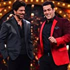 Salman Khan and Shah Rukh Khan in Bigg Boss (2006)