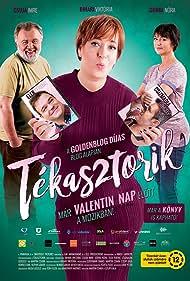 Gergely Csizmadia, Imre Csuja, Ferenc Elek, Nóra Görbe, and Viktória Bihari in Tékasztorik (2017)