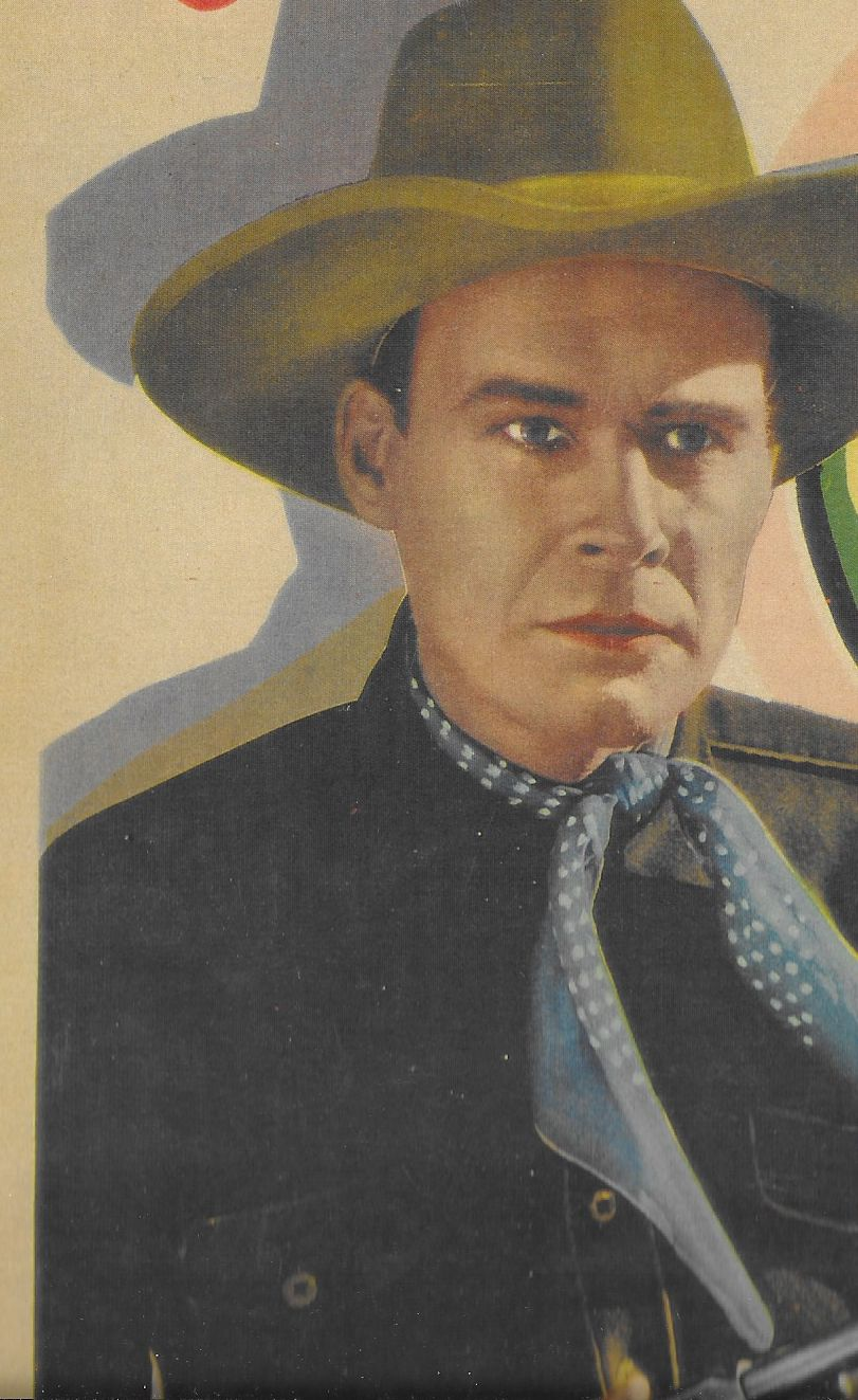 Lane Chandler in The Wyoming Whirlwind (1932)