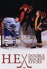 H-E Double Hockey Sticks Poster