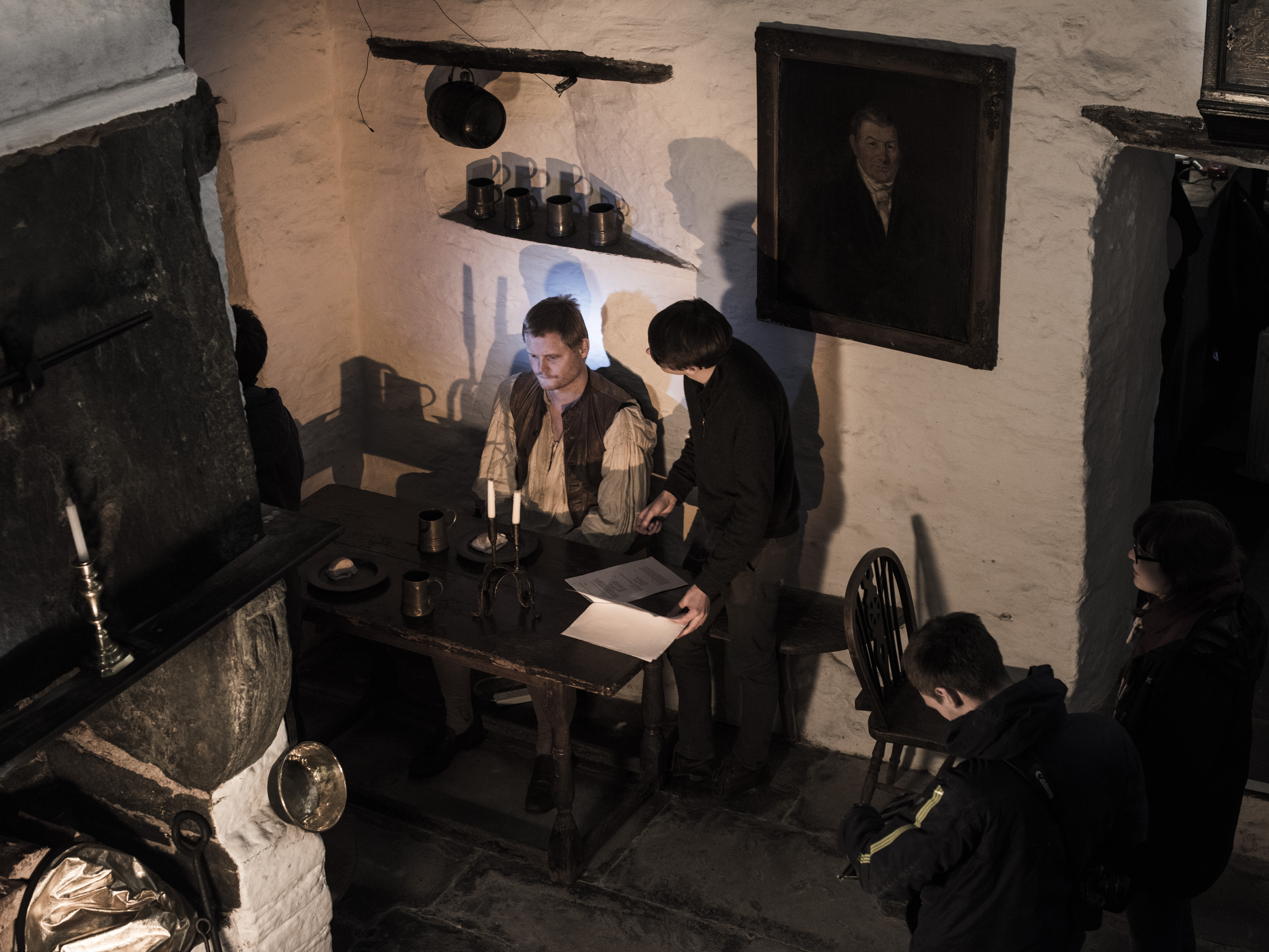 Oliver Chater and Ryan Cooper in The Highwayman (2016)