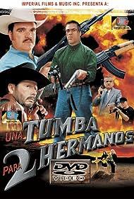Agustín Bernal, Irma Dorantes, Bernabé Melendrez, and Emilio Franco in Una tumba para dos hermanos (2000)