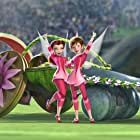 Brenda Song and Megan Hilty in Pixie Hollow Games (2011)