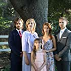 On the set of Blood Relatives-cast family photo