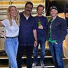 David Spade, Josh Wolf, Arielle Vandenberg, and Erik Griffin in Episode #1.100 (2020)