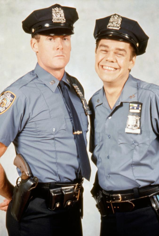 John C. McGinley and David Johansen in Car 54, Where Are You? (1994)