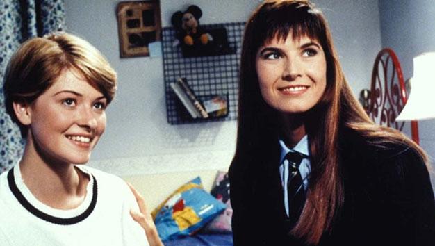 Federica Moro and Jessi Calzà in College (1990)