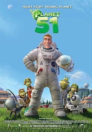Animation Planet 51 Movie
