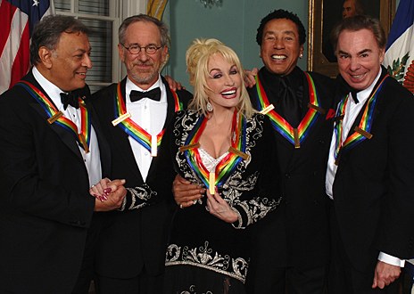 Steven Spielberg, Dolly Parton, Sting, Smokey Robinson, Andrew Lloyd Webber, and Zubin Mehta in The Kennedy Center Honors: A Celebration of the Performing Arts (2006)