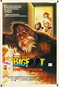 Kevin Peter Hall, John Lithgow, Melinda Dillon, Margaret Langrick, and Joshua Rudoy in Harry and the Hendersons (1987)