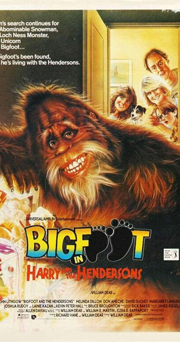 Subtitle of Harry and the Hendersons