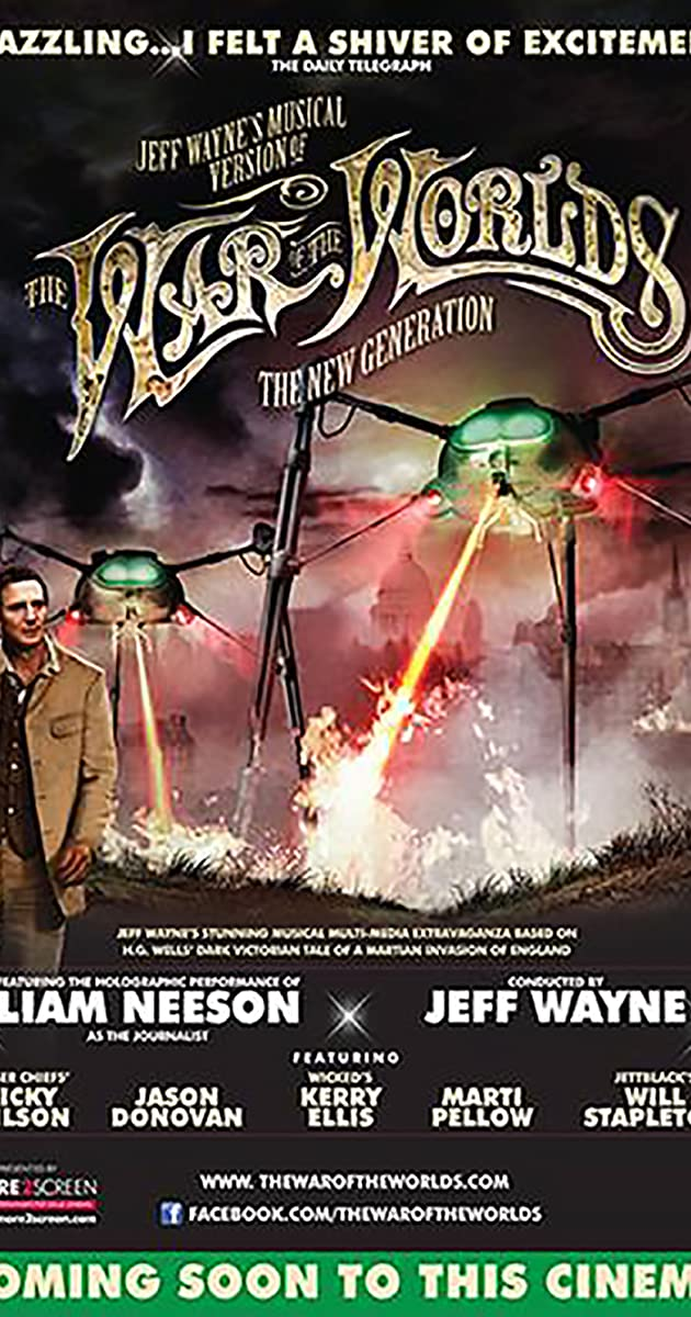 Subtitle of Jeff Wayne's Musical Version of the War of the Worlds: The New Generation