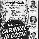 Cesar Romero, Dick Haymes, J. Carrol Naish, and Vera-Ellen in Carnival in Costa Rica (1947)