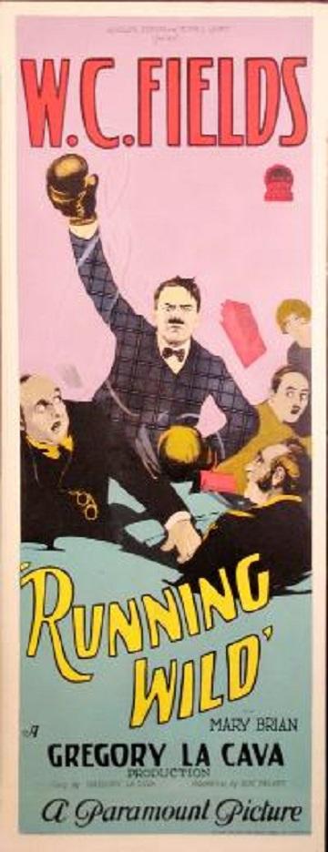 W.C. Fields in Running Wild (1927)