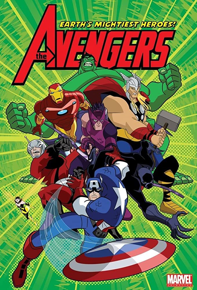 The Avengers Earths Mightiest Heroes (2010-12) S01 Hindi Dubbed Complete 1.8GB Bluray Download