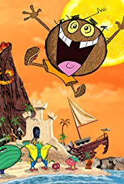 Coconut Fred's Fruit Salad Island! Poster
