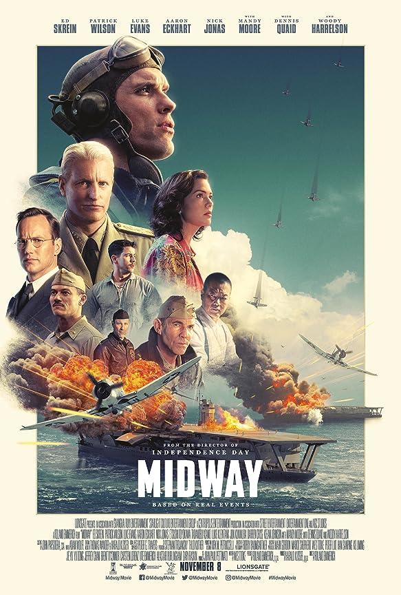 Midway (2019) Multi Audio [Hindi – Tamil – Telugu] x264 AAC Lplay WEB-DL