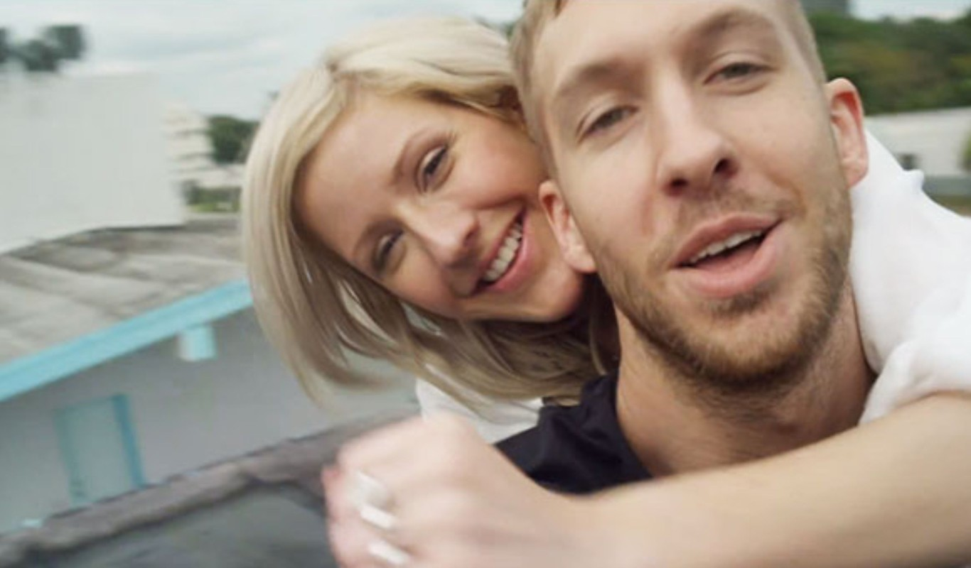 Were calvin harris and ellie goulding dating
