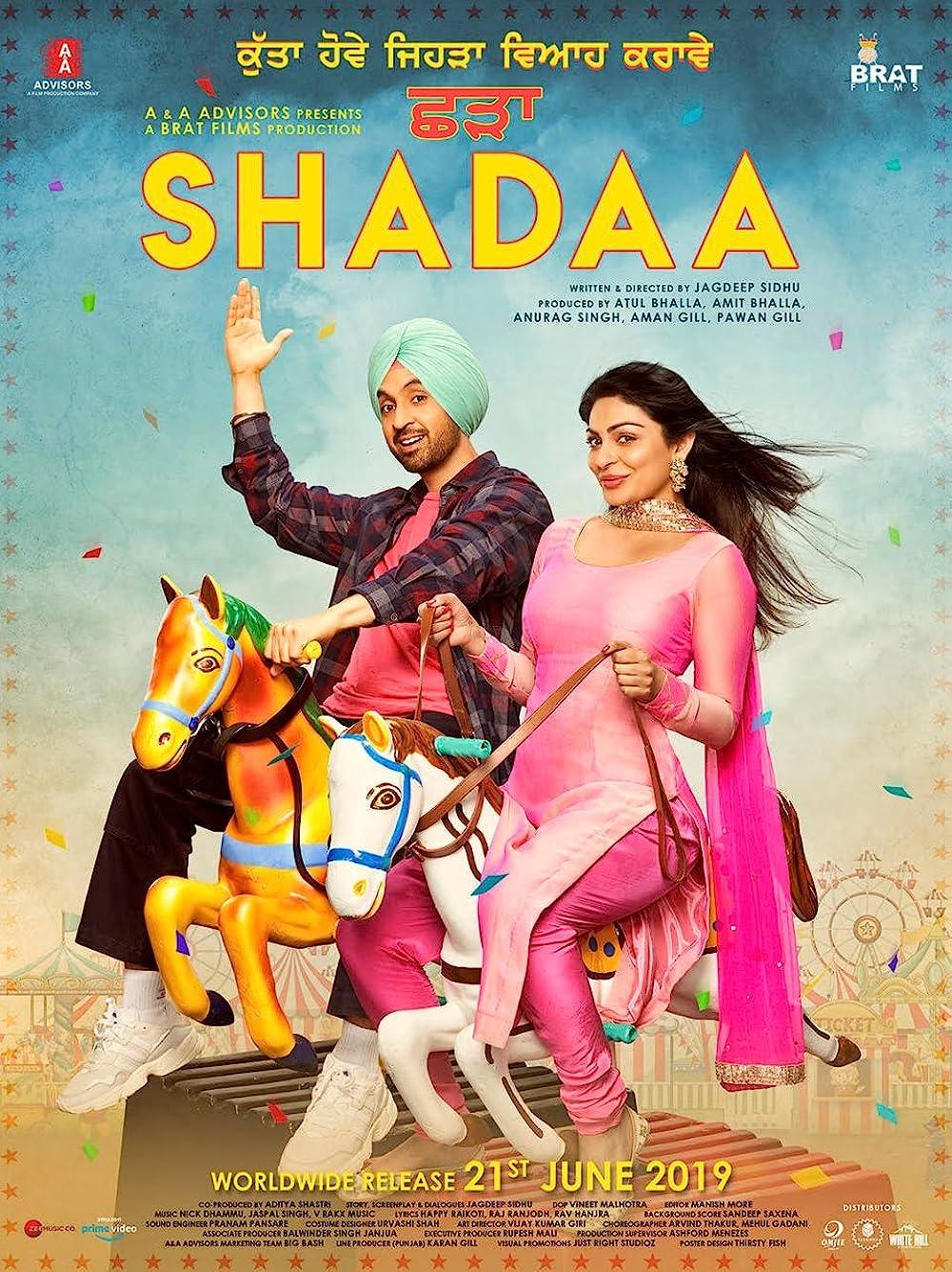Shadaa 2021 ORG Hindi Dubbed 350MB HDRip 480p