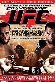 UFC 93: Franklin vs. Henderson Poster