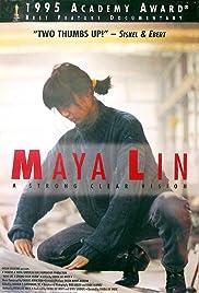 Maya Lin: A Strong Clear Vision Poster