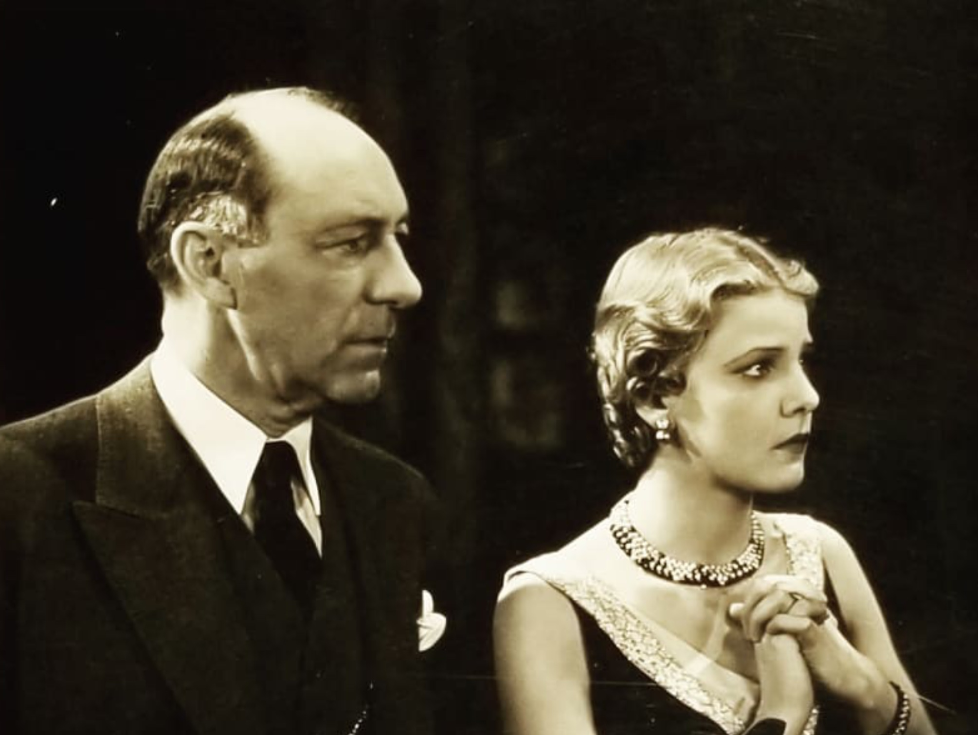 Lumsden Hare and Elissa Landi in Always Goodbye (1931)