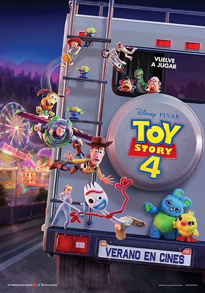 Toy Story 4 (Hindi Dubbed)