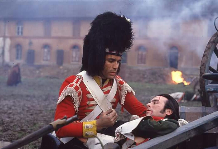 Adrian Paul and Manuel Bonnet in Highlander (1992)