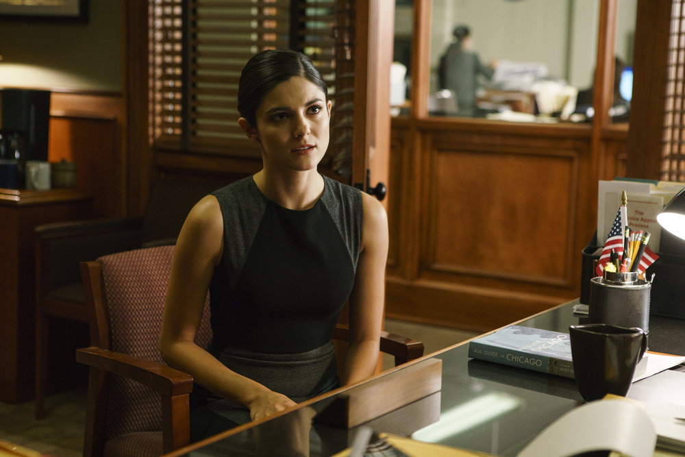Monica Barbaro in Chicago Justice (2017)