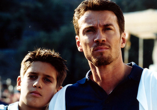 Alessio Boni and Matteo Gadola in Quando sei nato non puoi più nasconderti (2005)
