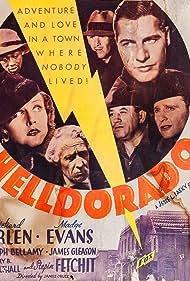 Ralph Bellamy, Richard Arlen, Madge Evans, Stepin Fetchit, James Gleason, and Henry B. Walthall in Helldorado (1935)