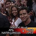 Amy Hunter and Mario Lopez in Sunday Night Heat (1998)